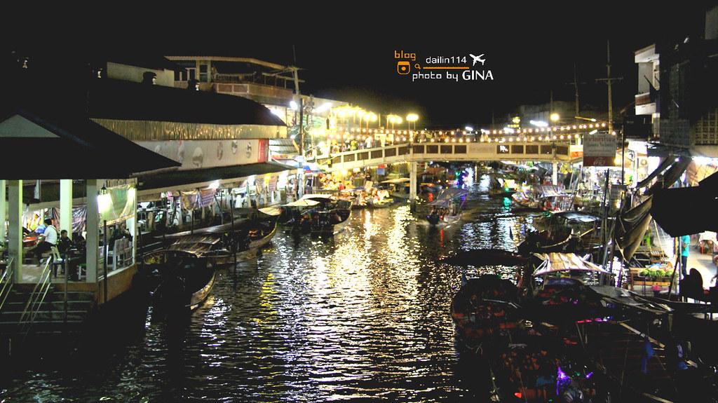 泰國自由行》從曼谷到安葩洼水上市場/安帕哇水上市場(Amphawa Floating Market)泰國道地水上人家 體驗在河畔吃海鮮晚餐(附交通方式) @ :: GINA 背包旅行記事...