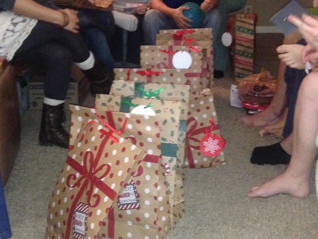 "Christmas With College and Adult Children: Pass and ""Steal"" Grab Bags"