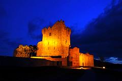 Ross Castle by night, Killarney