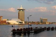 Amsterdam - EYE Filmmuseum & A'DAM Toren