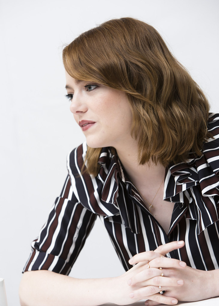 Эмма Стоун — Пресс-конференция «Ла-Ла Ленд» на «TIFF» 2016 – 39