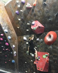 Bouldering with Jackson