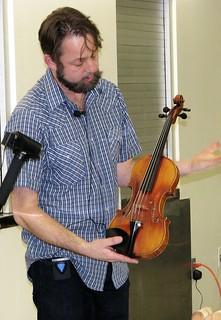 """Violin Making"" Jonathan Price December, 2016 Newsletter"