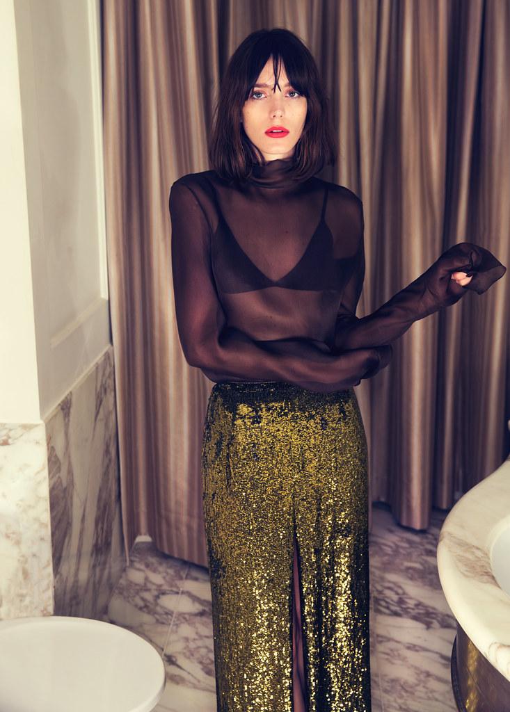 Стэйси Мартин — Фотосессия для «Evening Standart» 2016 – 5