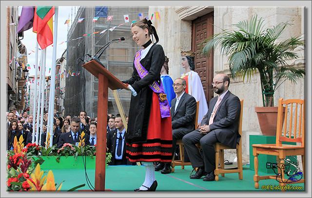 Briviesca en Fiestas 2.015 Proclamación de las Reinas y lectura del Pregón (23)