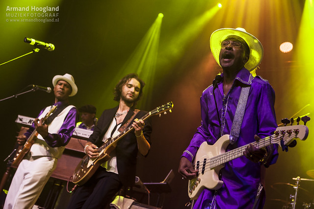 Larry Graham & Graham Central Station featuring Candy Dulfer & Jett Rebel @ Patronaat