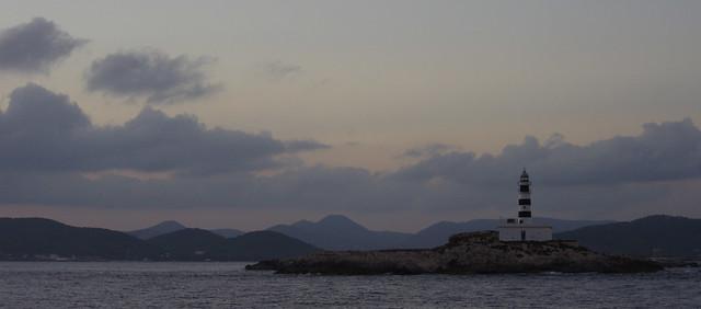 Panorama - phare au couchant
