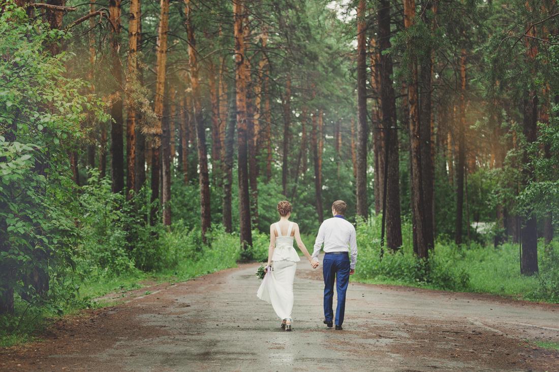 Свадебная прогулка для Насти и Андрея