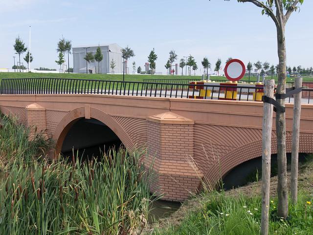 50 Euro Bridge in Spijkenisse