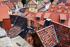 Unordered bunch of roofs