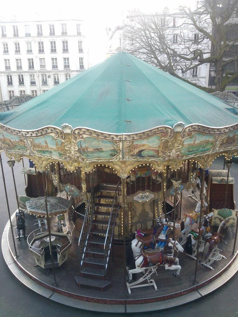 Basilica Sacre coeur - Carousel