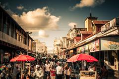 Port Louis Market Street
