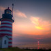 West Quoddy Head Light by brentdanley