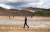 Walking on Mars  (Hverir, Iceland)