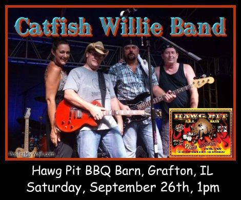 Catfish Willie Band 9-26-15