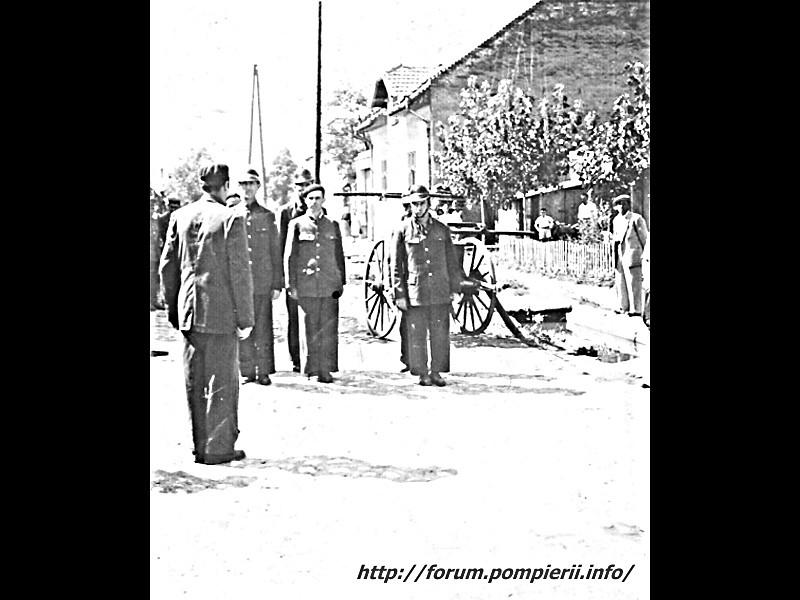 pompieri teius 1932