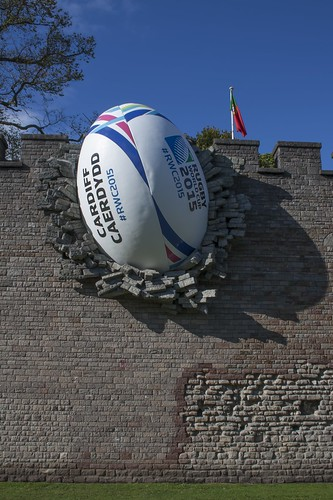 Rugby World Cup 2015 arrives in Cardiff #RWC2015
