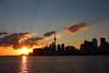 Toronto Sunset by ubernatural