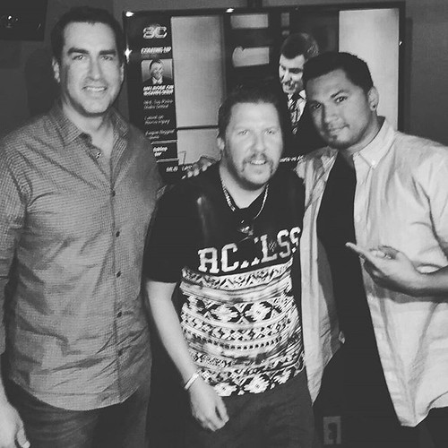 ICYMI- @RobRiggle & @NickSwardson stopped by to talk POA & @HellandBackFilm #TheShow