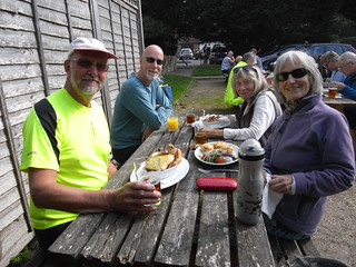 Lunch at the Six Bells, Chiddingly