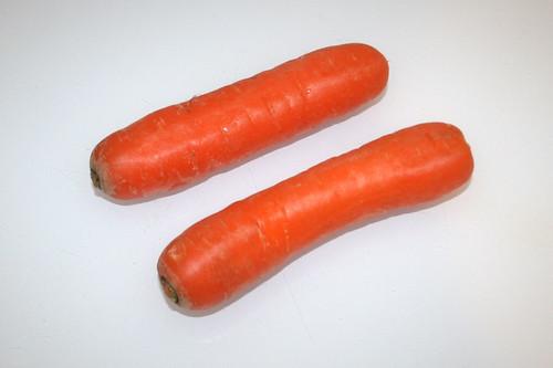05 - Zutat Möhren / Ingredient carrots