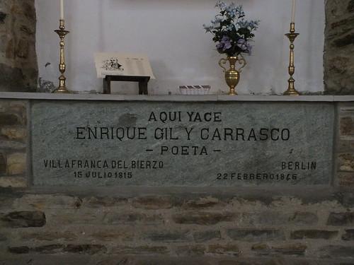 sepulcro de Gil y Carrasco