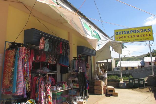 The newly-rehabilitated Quinapondan public market