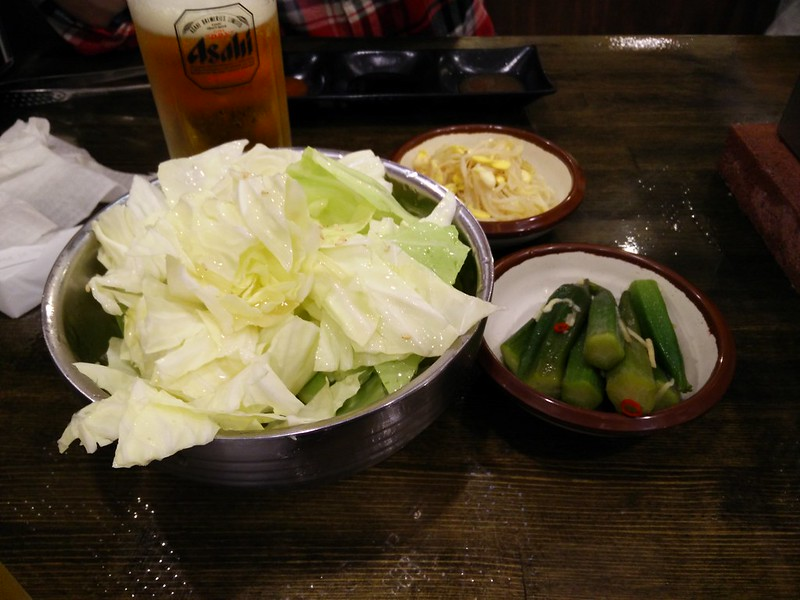 Yakiniku Side Salads