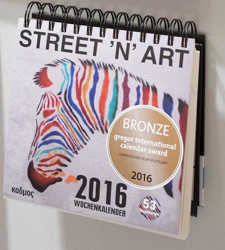 Street `n`Art Postkartenkalender