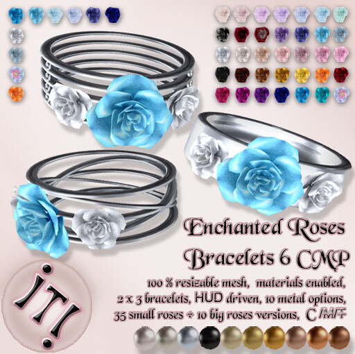 !IT! - Enchanted Roses Bracelets 6 CMP Image