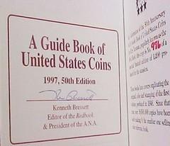 1997 Red Book Bressett signature
