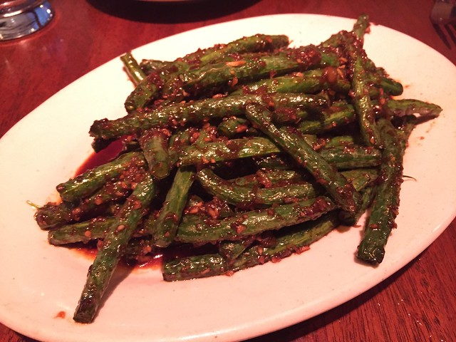 Szechuan green beans - Betelnut Restaurant