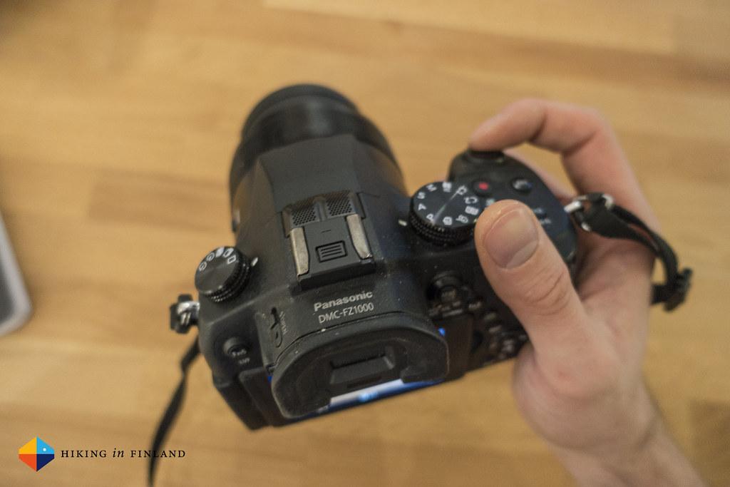 Great handling of the Panasonic DMC-FZ1000