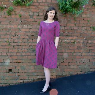Purple Moneta Dress