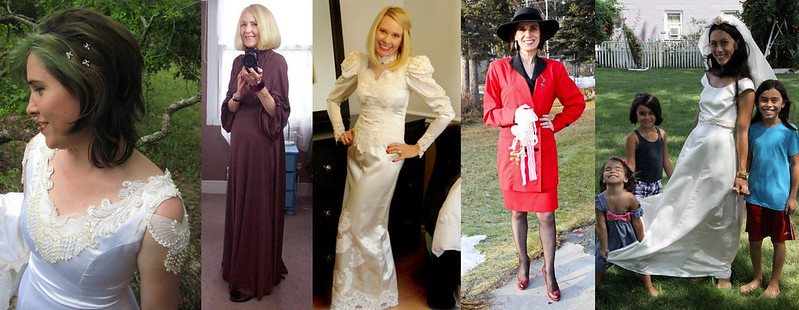 The #iwillwearwhatilike Wearing My Wedding Dress challenge