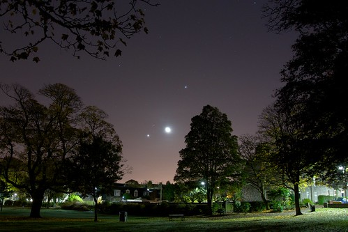Morning Planets and Moon - Nick Bramhall - Flickr