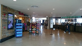 A souvenir shop and Starbucks in PWM