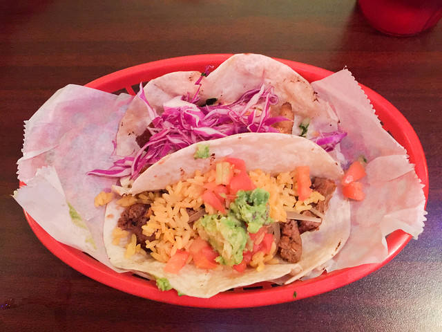 Tacos from Sarita's Grill