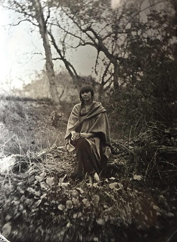Self portrait #tintype #wetplate