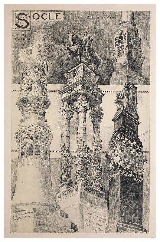 013-Zocalos-Esquisses Décoratives- 1905- Rene Binet