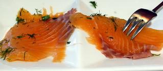 Salmon @ Ristorante Cristina's