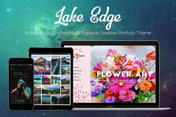 Creativemarket LAKE EDGE v1.3 – Creative Portfolio Theme