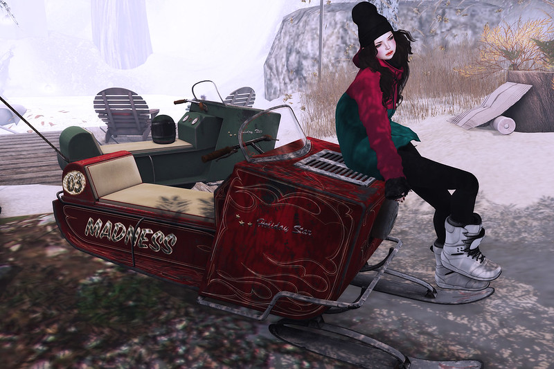 [tmk] vintage snowmobil