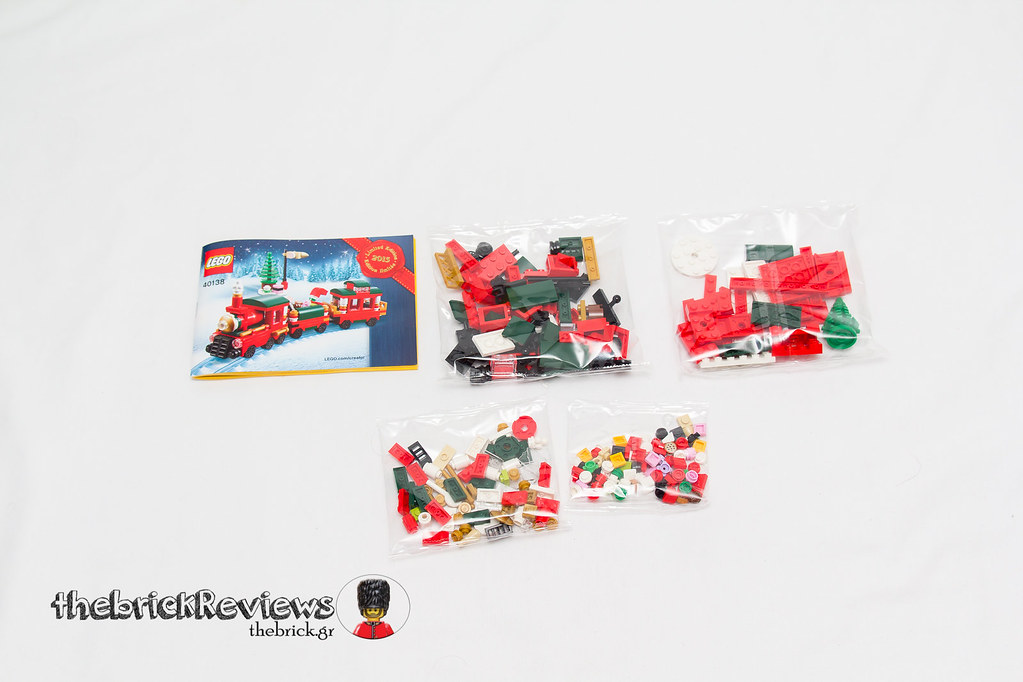 ThebrickReview: Christmas Train - 40138 - Limited Edition 2015 23719002885_1522524294_b