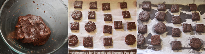 How to make Chocolate Glaze Cookies - Step4