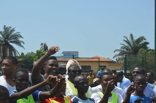 Eto'o in Ghana