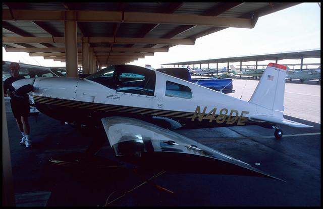 N48DE - Phoenix Mesa Falcon Field (FFZ) 20.04.2003