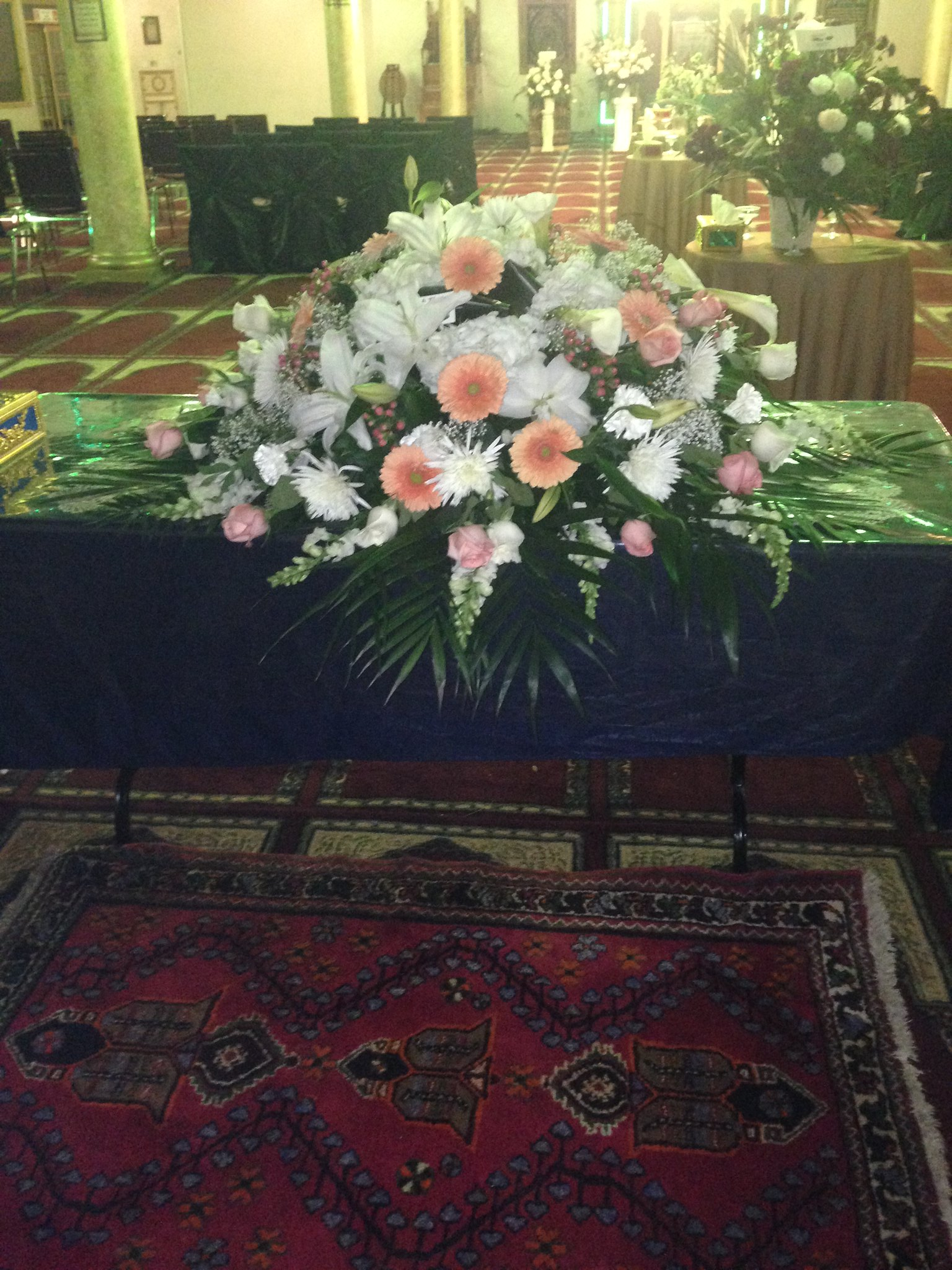 Funeral cascat$350