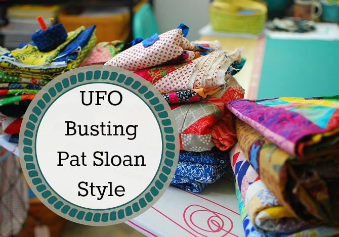 pat sloan UFO busting button