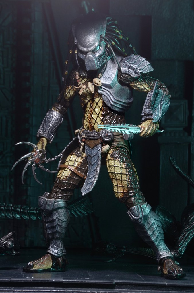 NECA 第十五彈終極戰士【異形戰場】Alien vs. Predator 7 吋人偶作品